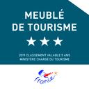 Classement Meublé de tourisme 3* 2019